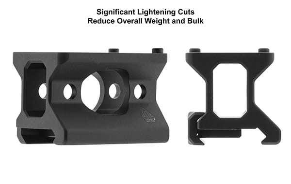 UTG Super Slim Picatinny RMR Mount, Lower 1/3 Co-witness-5913