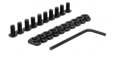 Replacement Mlok Screws and Backers (10 Pack)-0