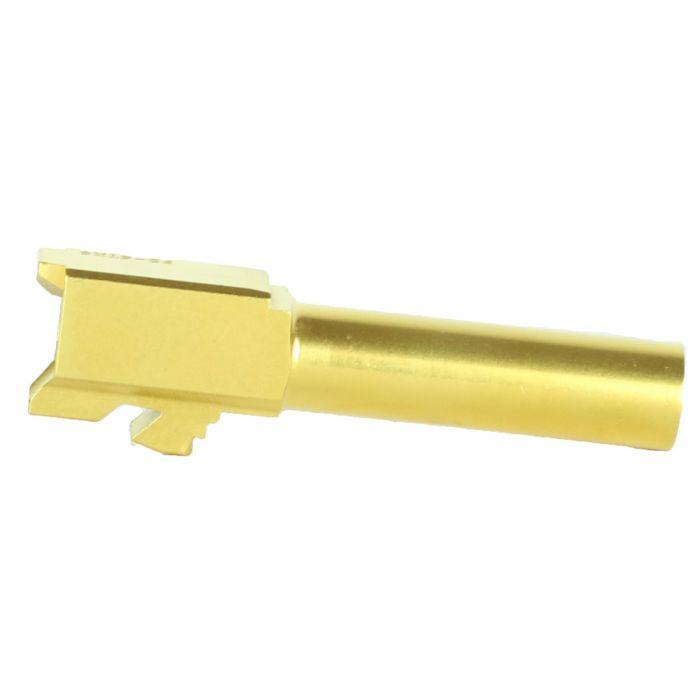 Glock 26 Gold Barrel KM Tactical