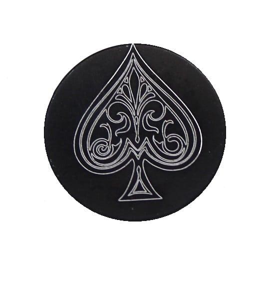 Ace Of Spades Oversized Magazine Button-0