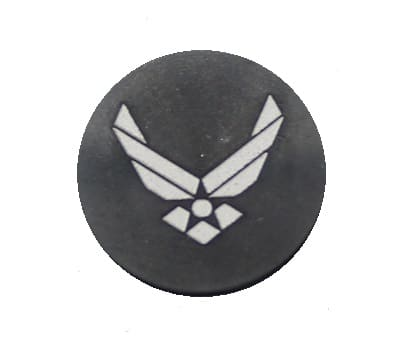 Air Force Oversized Magazine Button-0