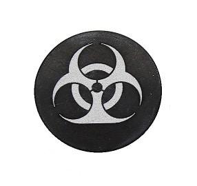 Bio-hazardous Oversized Magazine Button-0