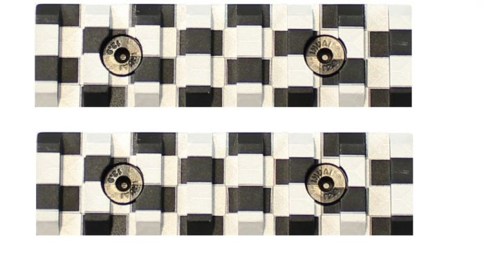Checkered Keymod Mini Rails (2 Pack)-0