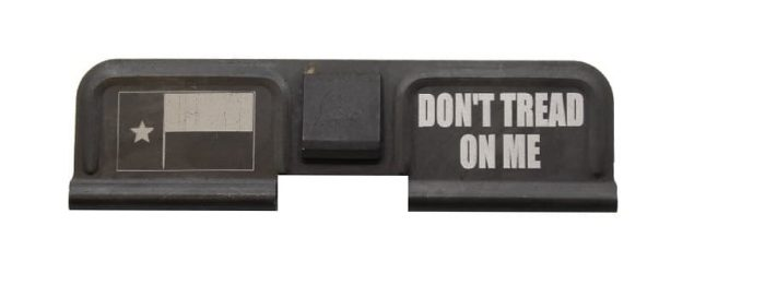 Don't Tread On Me Engraved Dust Cover - 308-0