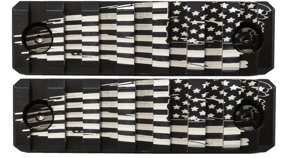 2 Pack American Flag Keymod Mini Rails-0