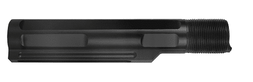 Gen 2 8 Position Mil-Spec Buffer Tube - BLACK KM Tactical AR 15 KM-BTML-BLACK