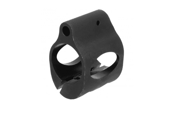 .750 Clamp On Steel Gas Block-0