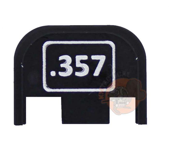 .357 Glock Engraved Back Plate-0