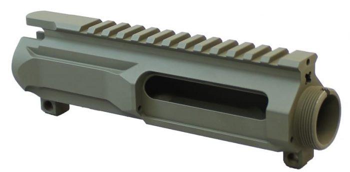 OD Green KM Tactical Billet Upper Receiver-0