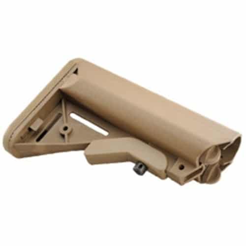 Mil-Spec SOPMOD Stock FDE KM Tactical AR 15 AR308 STOCKS-SOPMOD-FDE